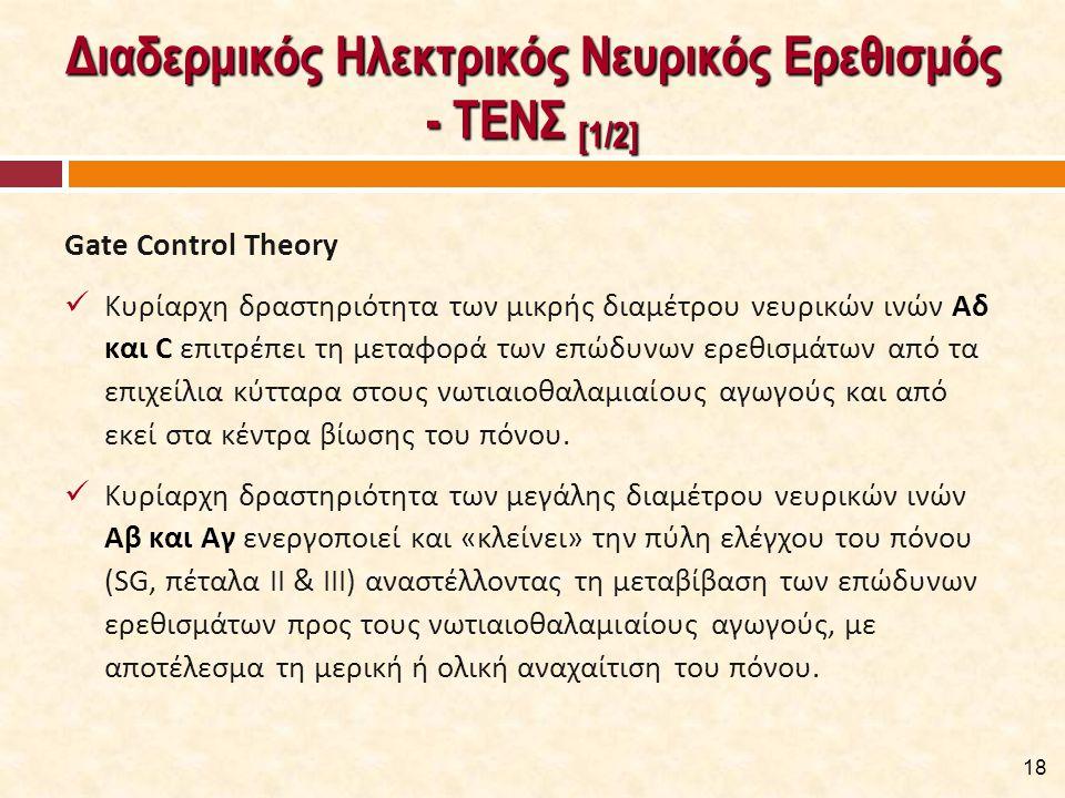 Διαδερμικός Ηλεκτρικός Νευρικός Ερεθισμός - ΤΕΝΣ [2/2]